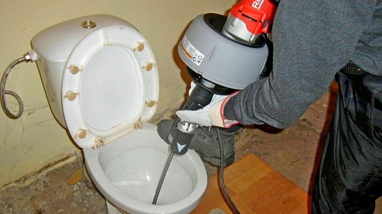 Услуга Прочистка канализации